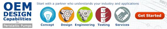OEM Design Capabilities for Peristaltic Pumps
