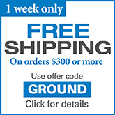 Free shipping offer- limited time