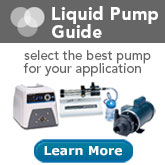 Select the best pump for your application with a Liquid Pump Guide