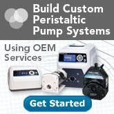 Build Custom Peristaltic Pump Systems Using OEM Services