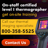 Training with Thermal imaging experts- certified level 1
