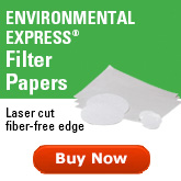 Environmental Express ProWeigh Filters