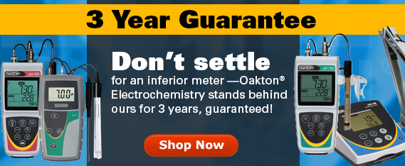 Oakton instruments offer Value, Quality, Selection